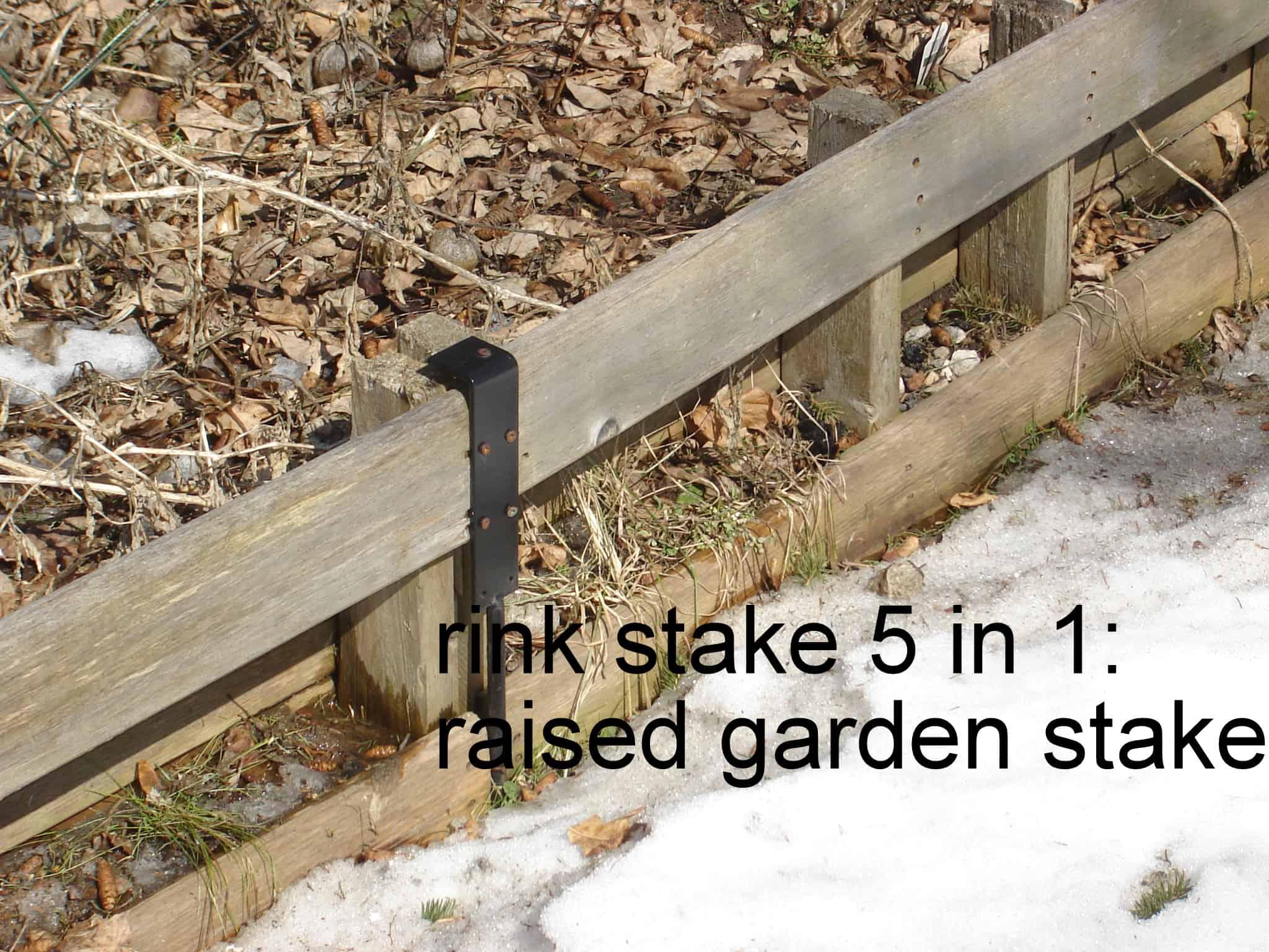 ice rink stake 5 in 1 6 presto install