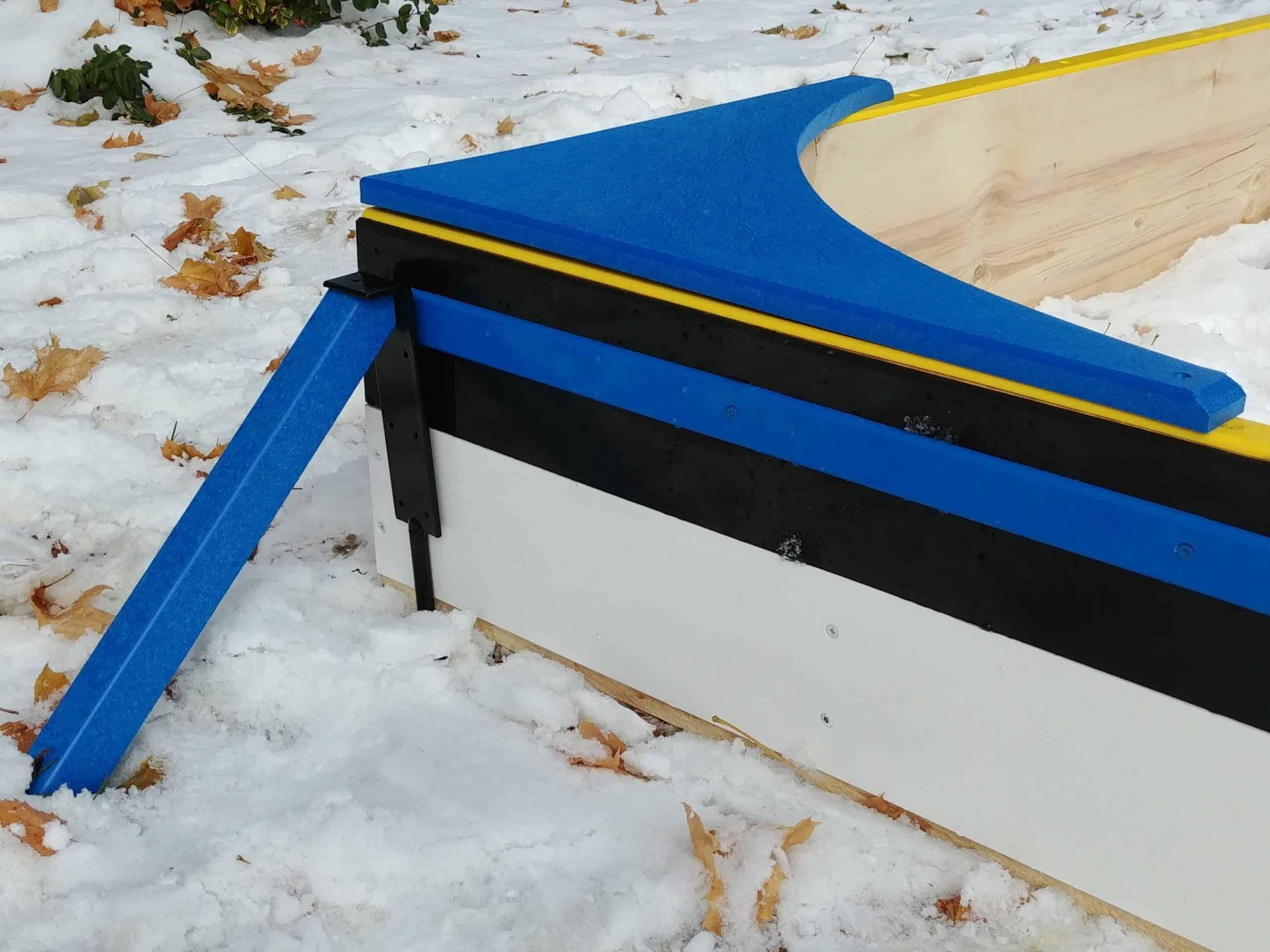 Ultimate Pro Panel Kit Backyard Rink Backyard rink kit with boards
