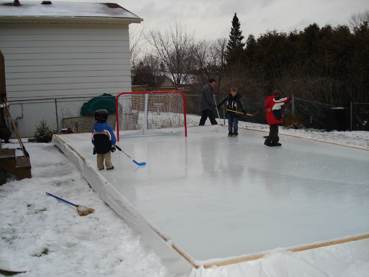 why houseleague hockey players could benefit from a backyard ice rink