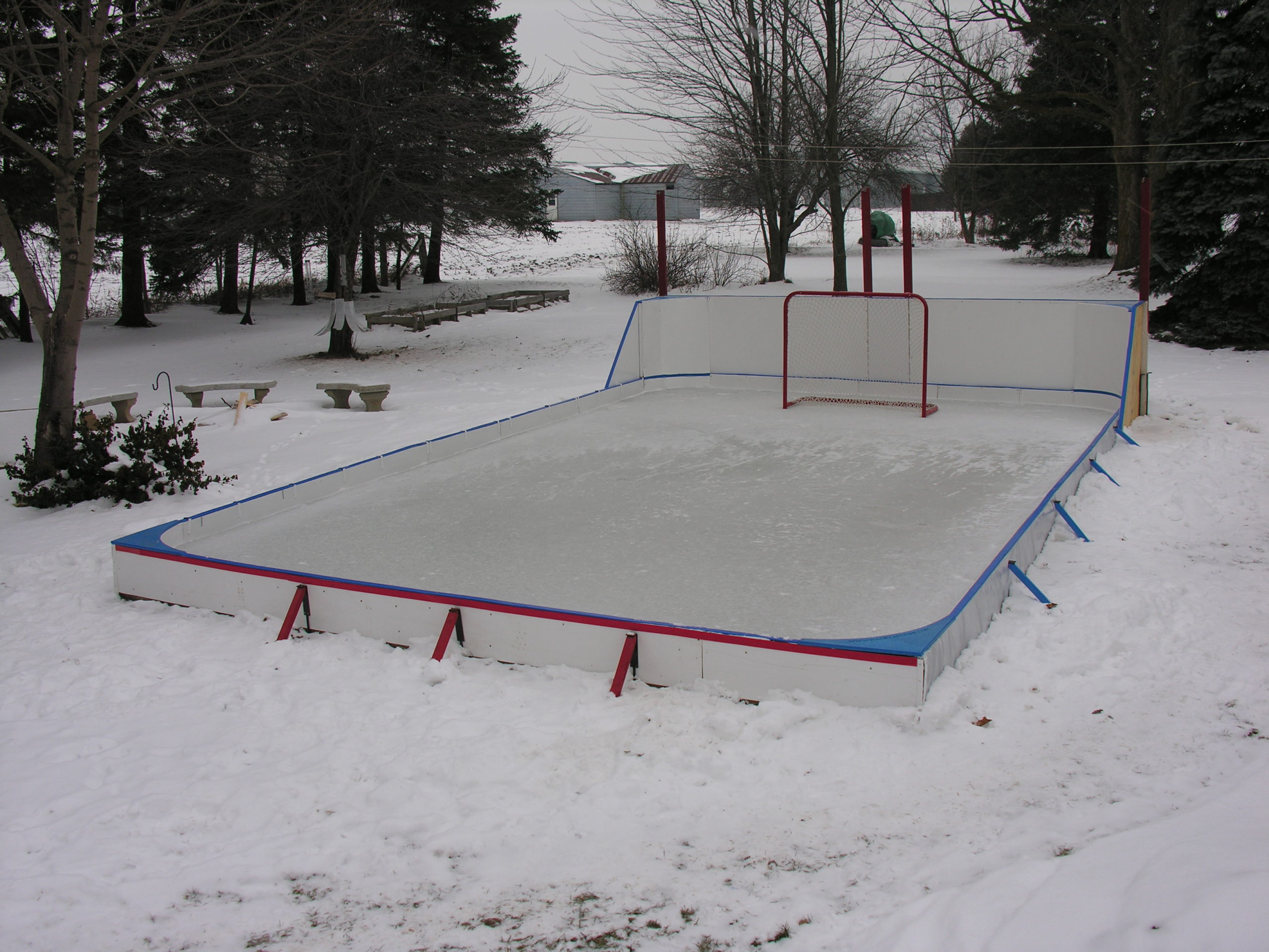 Rink Stake 5 In 1 Combo Pack Backyard Rink Best backyard ice rink kit canada