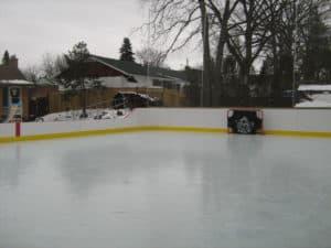 Backyard Hockey Boards