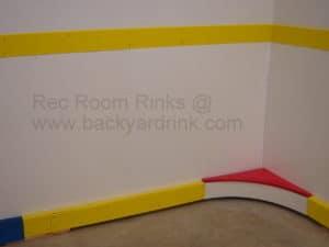Basement Rink hockey Boards