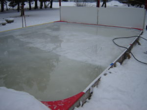 Backyard Hockey Rink Boards