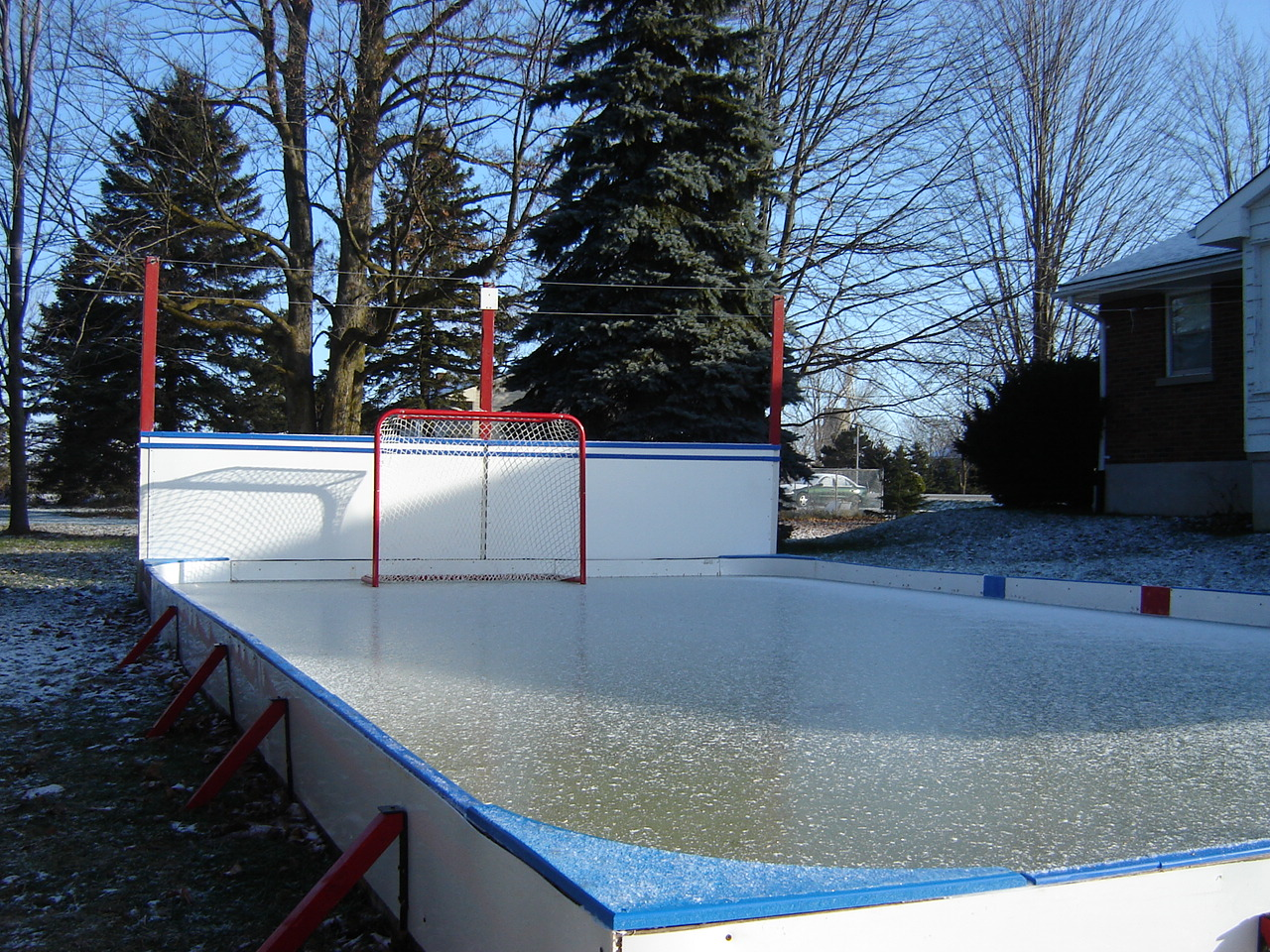 triyae com u003d backyard rink ice thickness various design