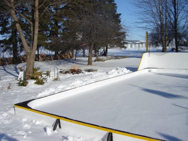 ice rink liner protection system