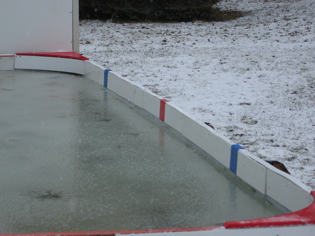 Backyard Rink Liner : Outdoor Ice Rink Liners Tarps World Class Gold Standard
