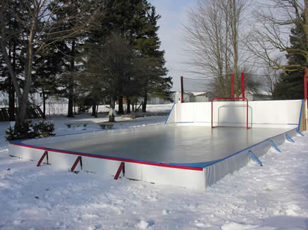 Backyard Hockey Rink Tarp