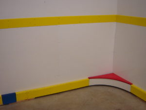 Basement Rink hockey boards