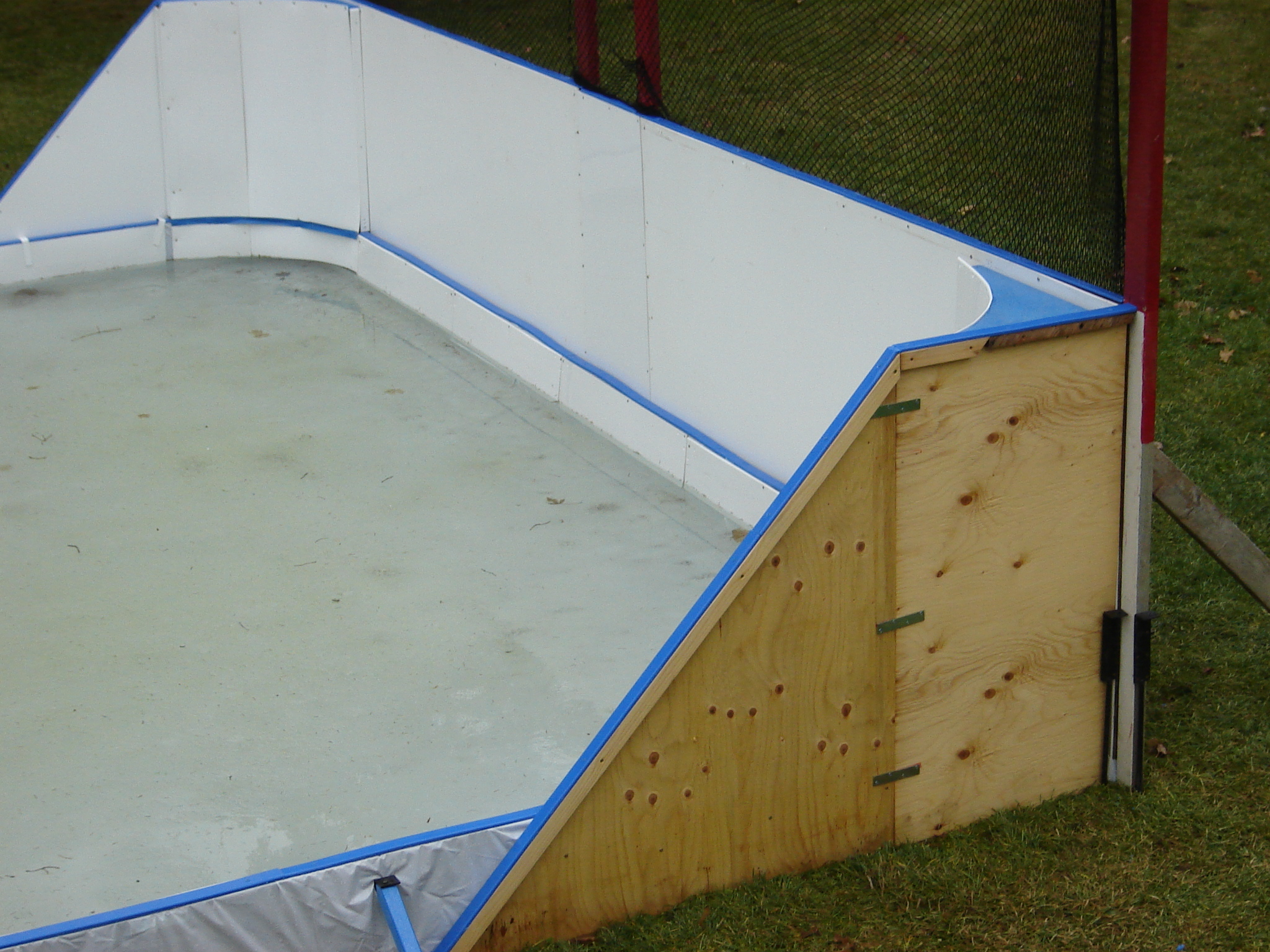 Backyard Rink Boards : Backyard Ice Rink Boards Puckboard arena board for rinks and ramps