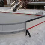 Backyard Rink Hockey corner Panels