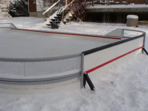 Backyard Rink Hockey corner Panels