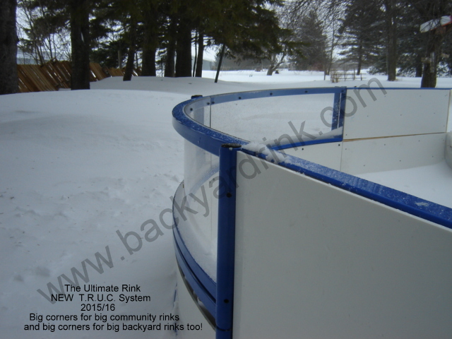 ice rink flooder with water control valve and smoothing towel