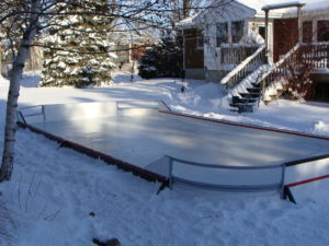 Backyard Rink corner Panels