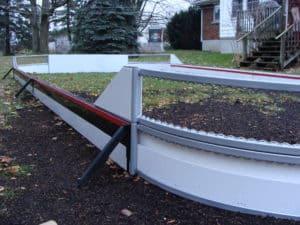 Backyard Rink hockey Boards