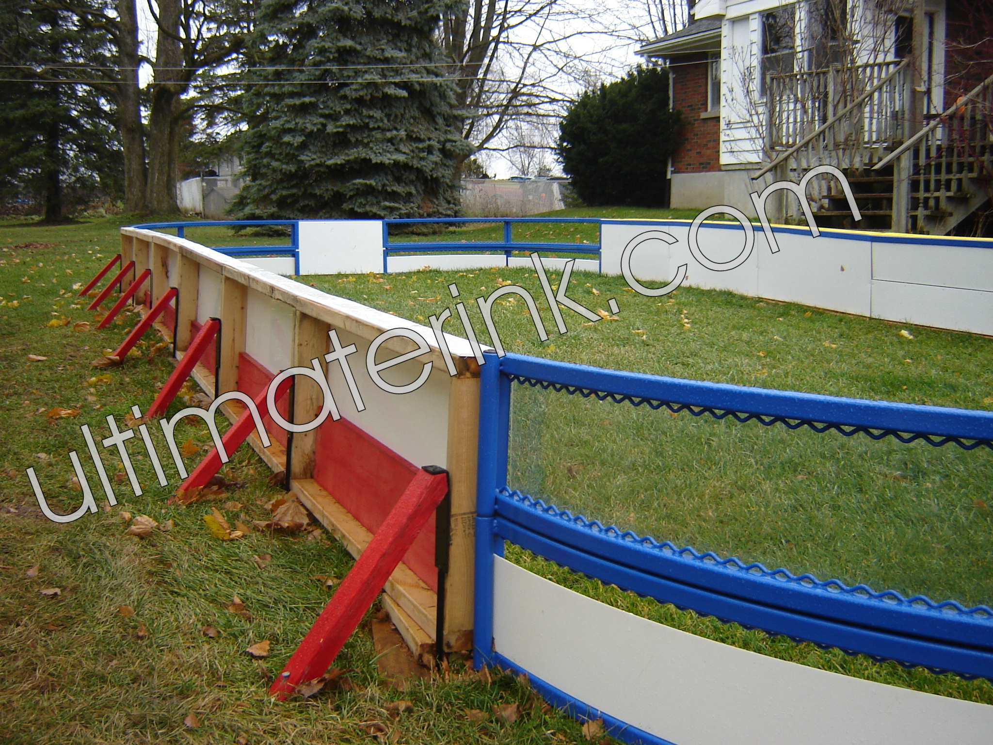 Backyard Rink Boards