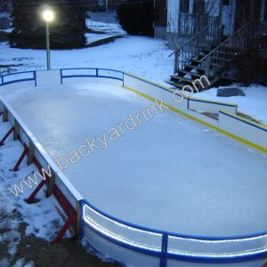 TRUC Rink System Complete and ready for your skate.