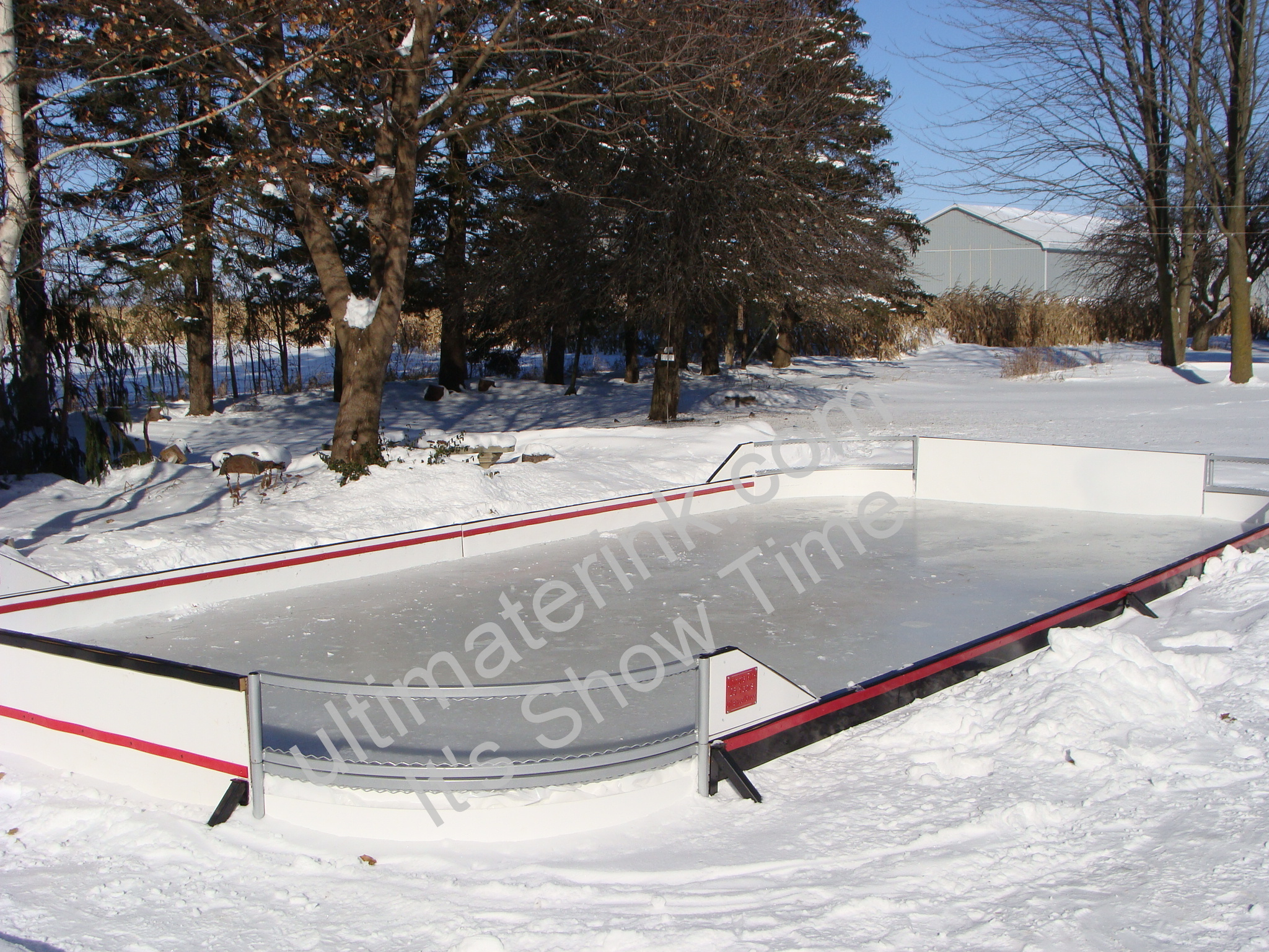 Backyard Rink hockey Panels
