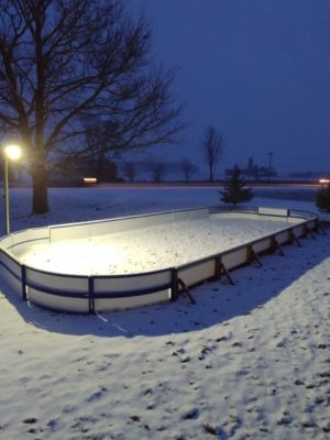 Outdoor Hockey Rink Lighting