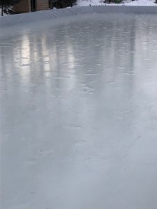 Repairing damage to your ice rink surface