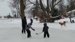 The team are having fun!!! Happy winter.
