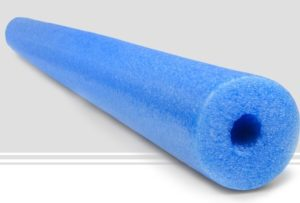 Jumbo Pool Noodles for Rink Plywood cappers.