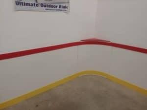 Basement Rink Wall Install