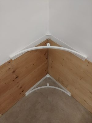 Basement Rink Corner. Step by step how to install