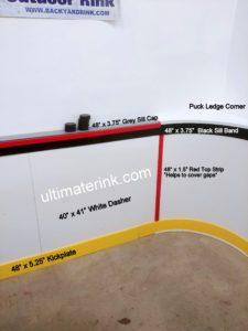 Puckledge Wall Description